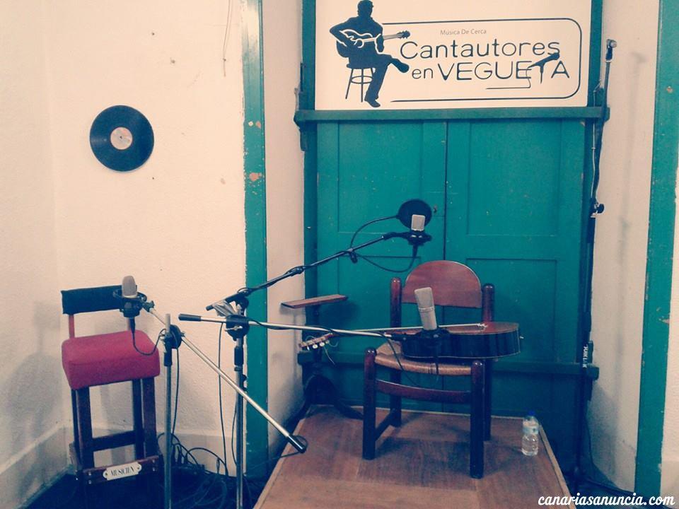 Cantautores en Vegueta